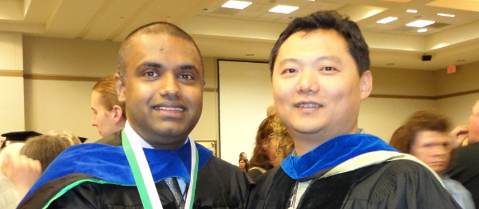 Balathasan Giritharan received Ph.D. in 2012.