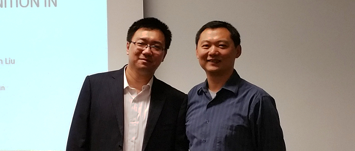 Siyuan successfully completed his M.S. defense in December 2015.