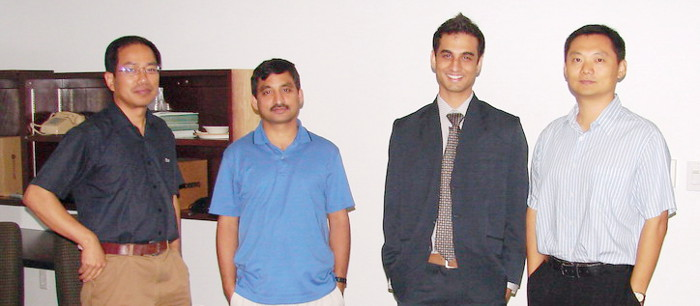 Vaibhav Sarma received M.S. in 2009.